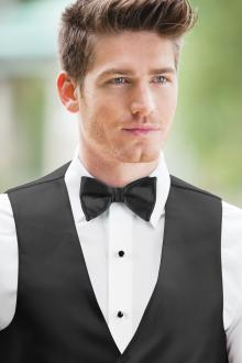 Expressions Black Bow Tie