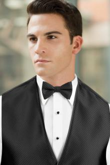 Synergy Black Bow Tie