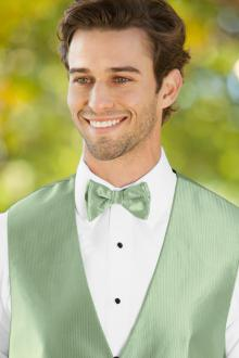 Herringbone Meadow Bow Tie