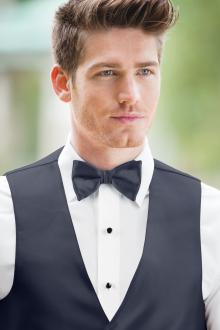 Expressions Navy Bow Tie
