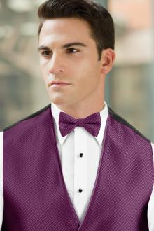 Synergy Violet Bow Tie