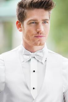 Expressions White Bow Tie