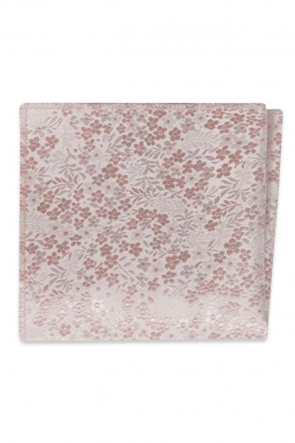 Blush Floral Pocket Square