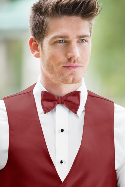 Expressions Apple Red Bow Tie