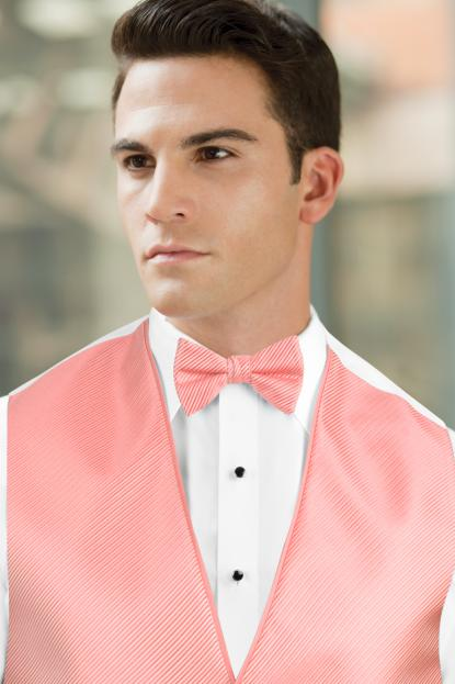 Synergy Coral Bow Tie