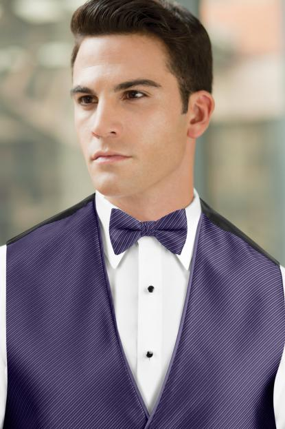 Synergy Purple Rain Bow Tie