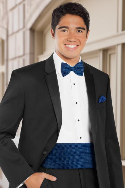 Dot Royal Blue Cummerbund