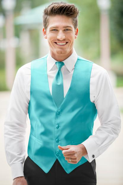 Expressions Turquoise Vest