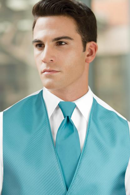 Solid Dark Turquoise Windsor