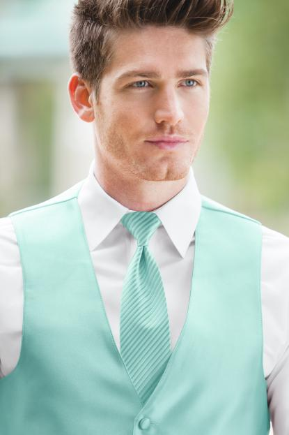 Striped Expressions Tiffany Blue Windsor