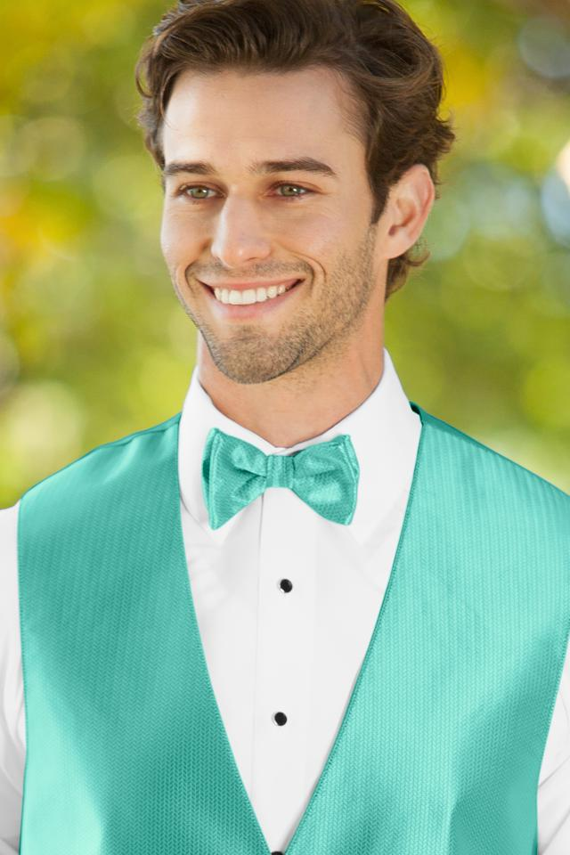 Herringbone Mermaid Bow Tie