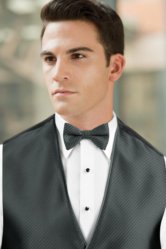 Synergy Pewter Bow Tie