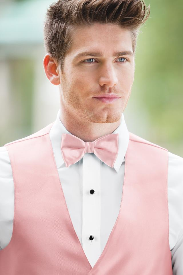 Expressions Rose Petal Bow Tie
