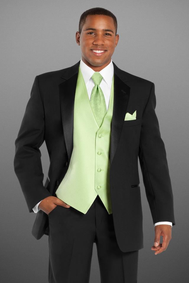 Stephen Geoffrey Black Troy Modern Fit Tuxedo