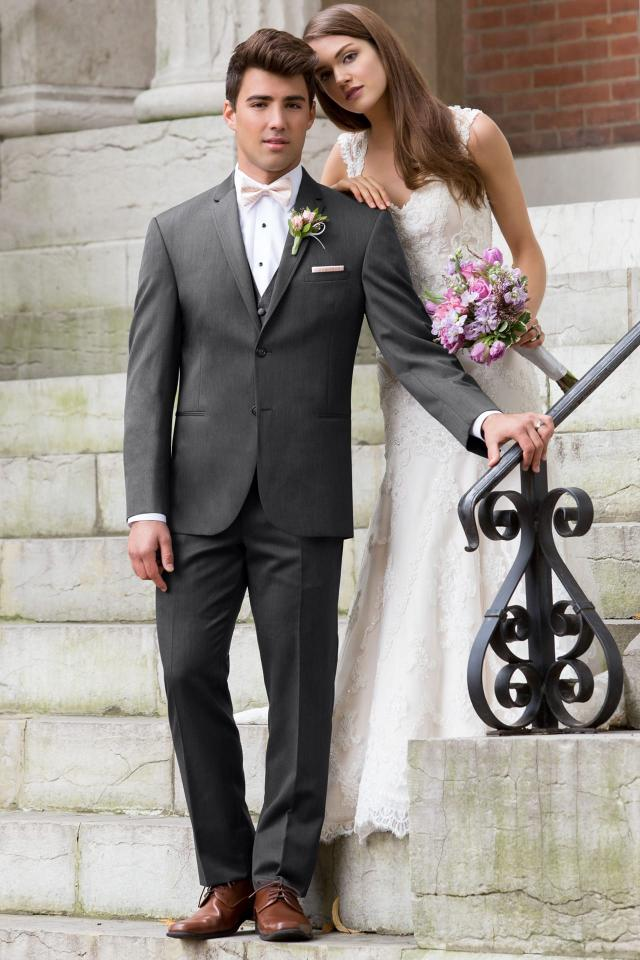 Michael Kors Ultra Slim Steel Grey Sterling Wedding Suit Ultra Slim Fit Suit