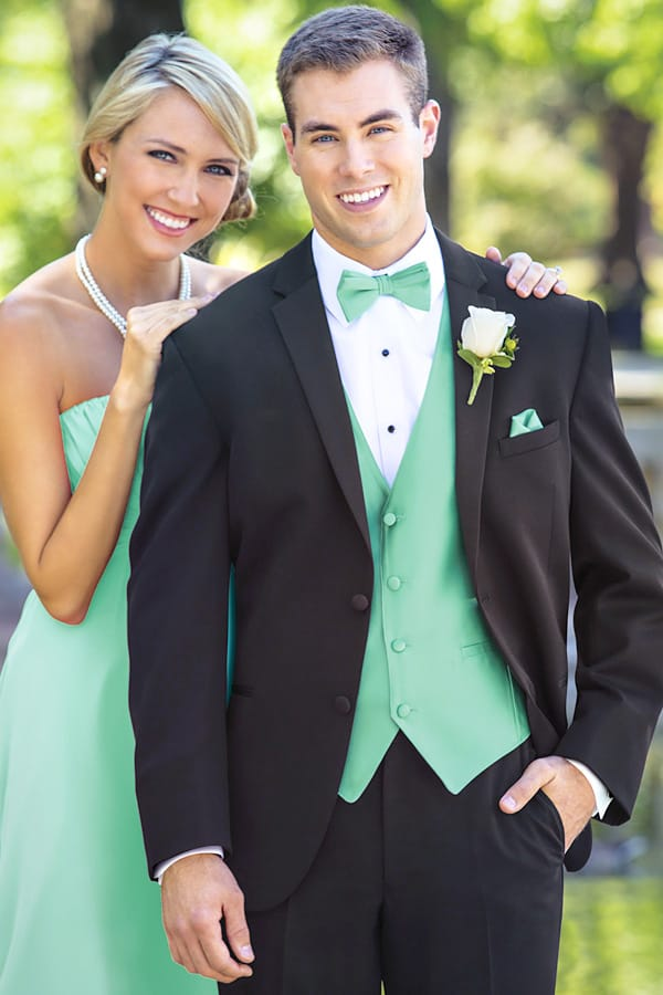 College Black Tie Formal Tuxedo