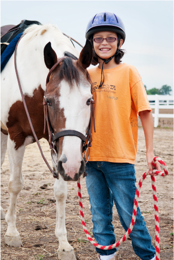 Learning responsibility at the Chakota Therapeutic Riding Center