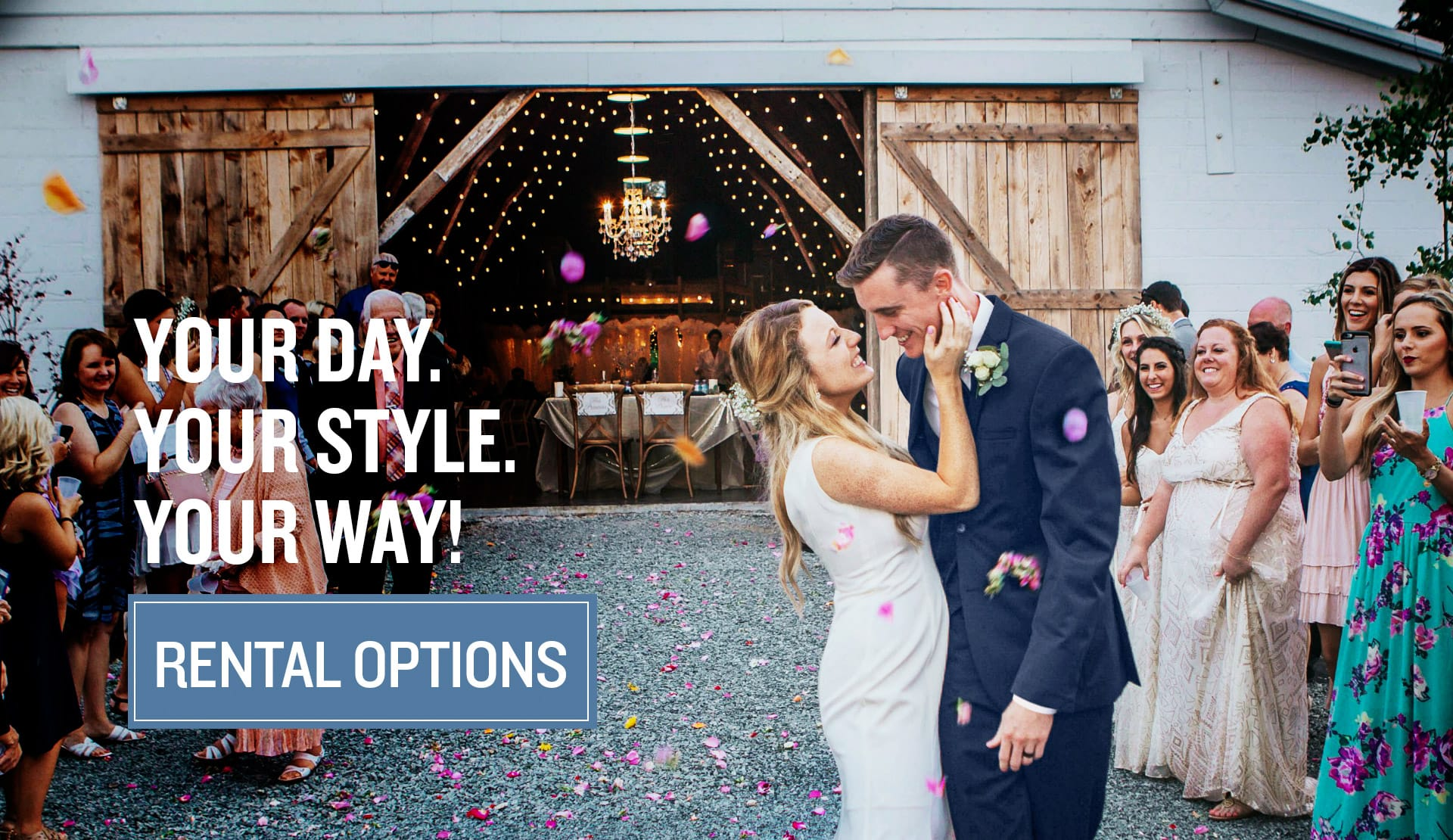 Choose a personalized tuxedo rental option best for you.