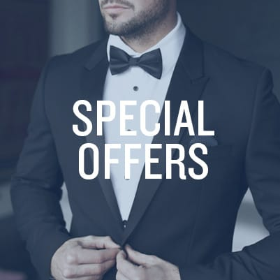 Tuxedo and Suit Rental Promotions and Offers